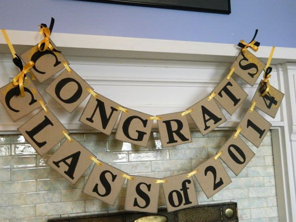 15 DIY Ways to Celebrate a Person's Graduation So Right! 5