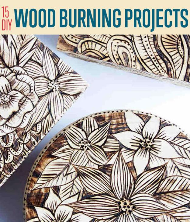 15 DIY Wood Burning Projects Wood Burning Art 00
