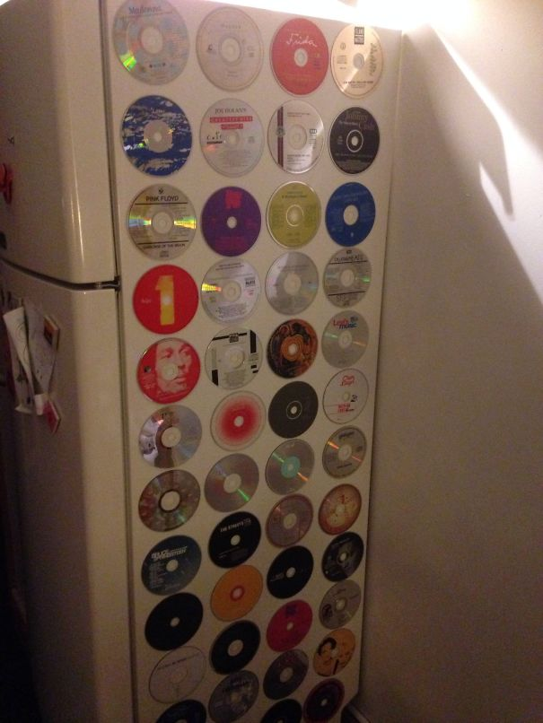 15 Great Easy Ideas About How You Can Reuse Old Cds! 8