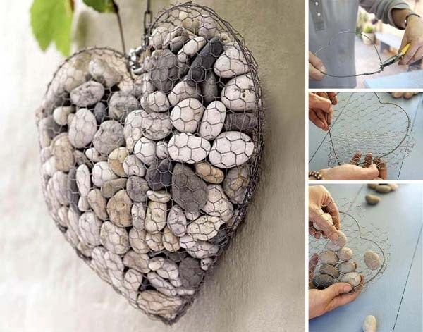 Fifteen İncredible DIY Garden Redecorating Ideas by using Rocks 12