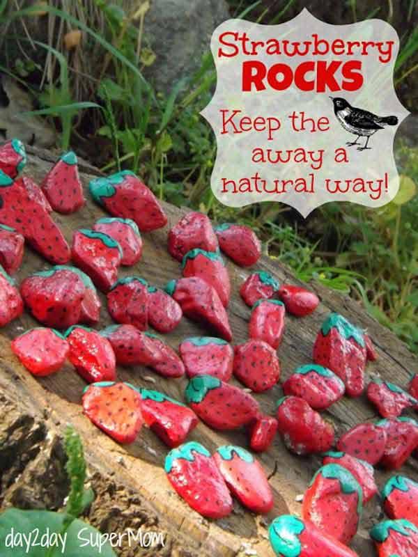 Fifteen İncredible DIY Garden Redecorating Ideas by using Rocks 13