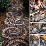 Fifteen İncredible DIY Garden Redecorating Ideas by using Rocks 4