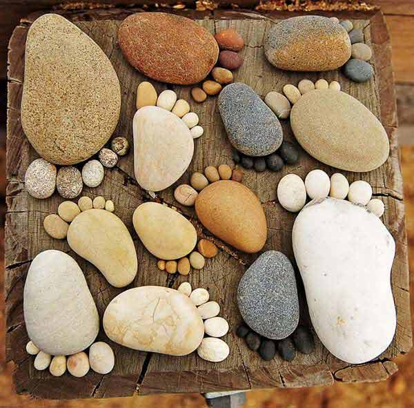 Fifteen İncredible DIY Garden Redecorating Ideas by using Rocks 8
