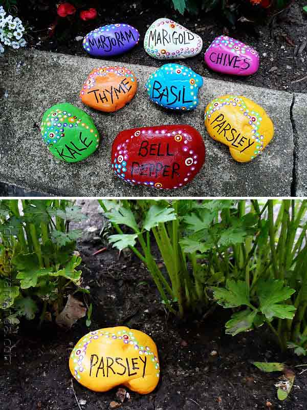 Fifteen İncredible DIY Garden Redecorating Ideas by using Rocks 9