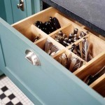 Top 18 Ingenious and also Lovely DIY Flatware Storage Solutions 8