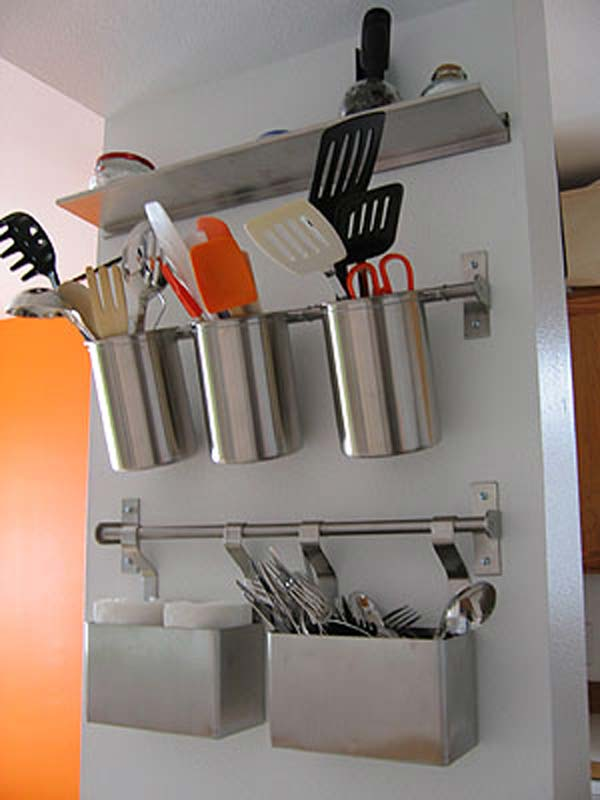 Top 18 Ingenious and also Lovely DIY Flatware Storage Solutions 9