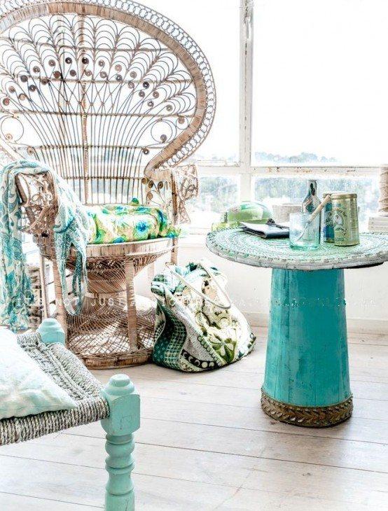16 Wonderful Bohemian Sunroom Decor Ideas 1