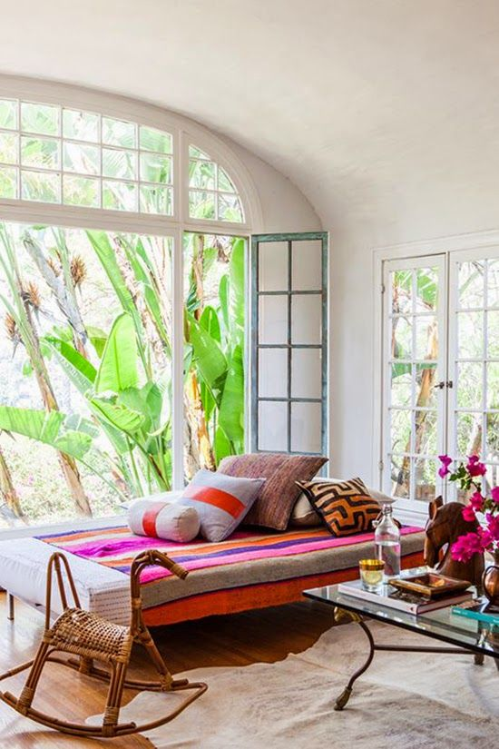 16 Wonderful Bohemian Sunroom Decor Ideas 12
