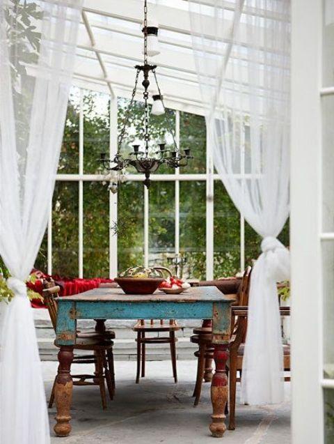 16 Wonderful Bohemian Sunroom Decor Ideas 15