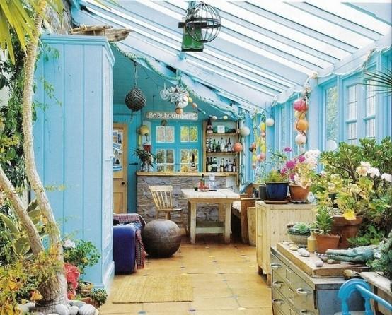 16 Wonderful Bohemian Sunroom Decor Ideas 5
