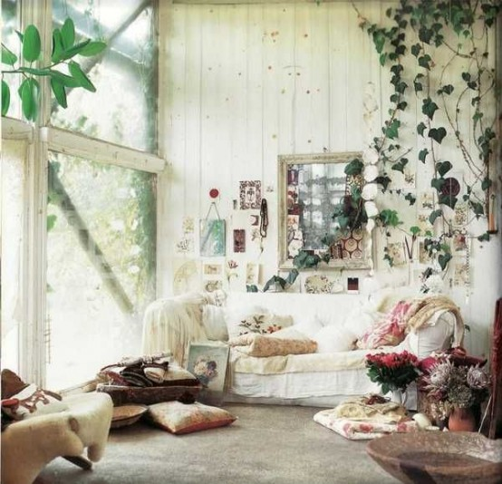 16 Wonderful Bohemian Sunroom Decor Ideas 7