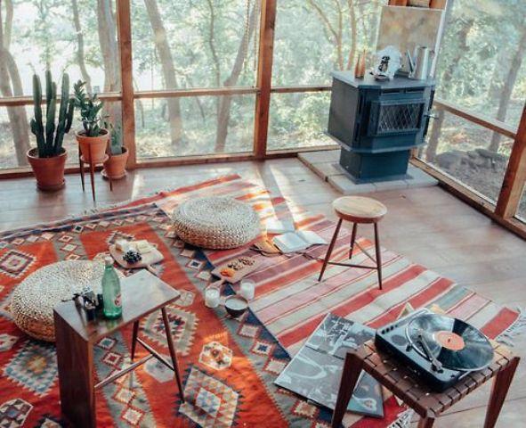 16 Wonderful Bohemian Sunroom Decor Ideas 8