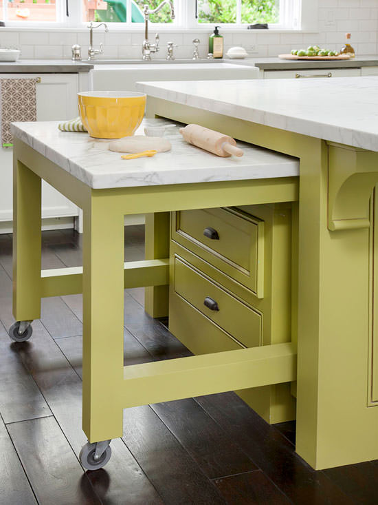 8 Great DIY Ideas For The Perfect Kitchen Island! 03