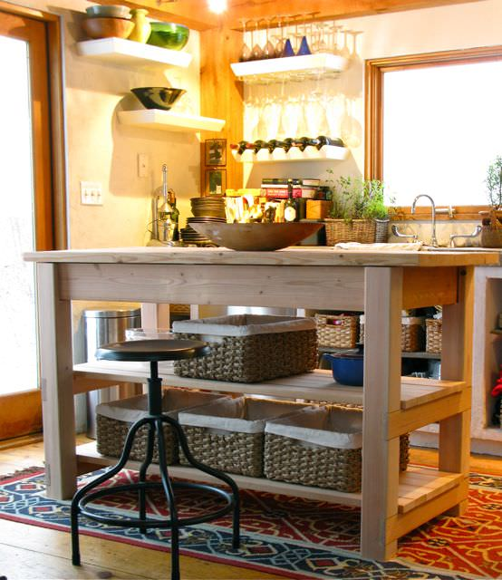 8 Great DIY Ideas For The Perfect Kitchen Island! 06