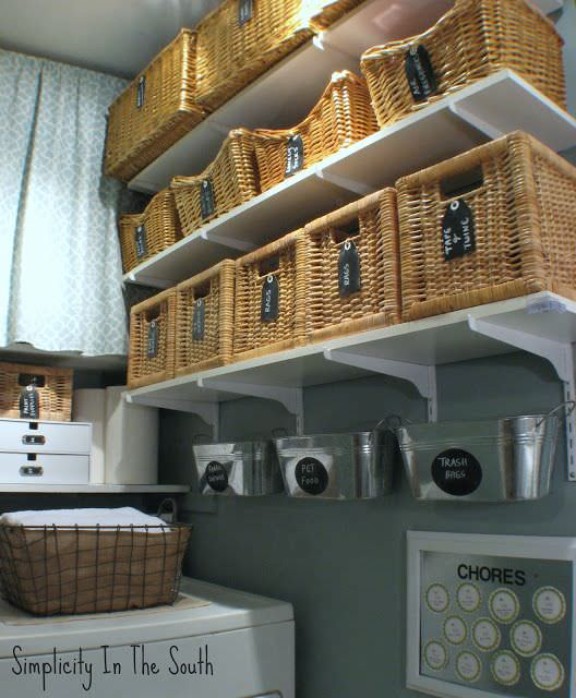9 Great DIY Ideas For Indoor Decor With Baskets 05