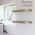 13 Adorable DIY Floating Shelves Ideas For You 12