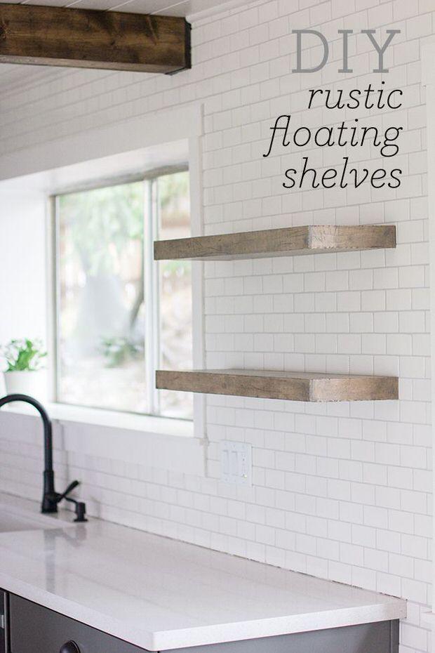 13 Adorable DIY Floating Shelves Ideas For You 12