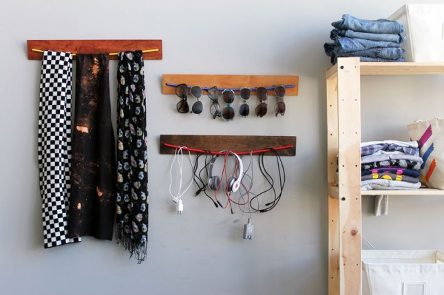 15 DIY Little and Clever Storage Hacks and Ideas 14