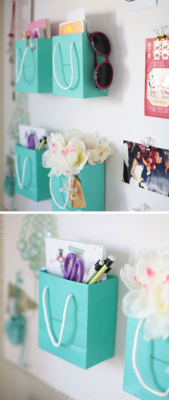 15 DIY Little and Clever Storage Hacks and Ideas 15