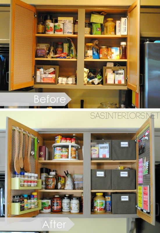 15 Smart DIY Organizing Ideas For Small Kitchen 9