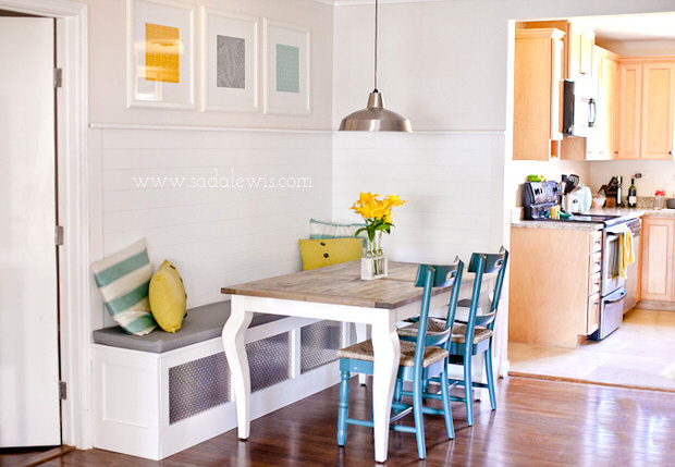 16 Awesome Do It Yourself Nooks and Banquettes Ideas 11