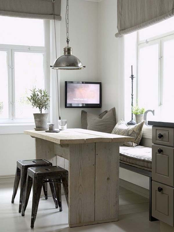 16 Awesome Do It Yourself Nooks and Banquettes Ideas 7