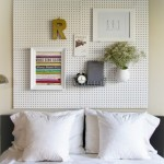 16 Modern and Chic DIY Headboard Ideas That Are Actually Easy 12