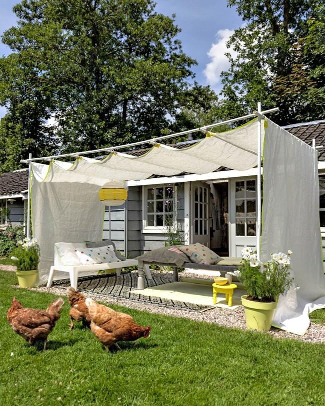DIY Ideas For Backyard Oasis Shades 8