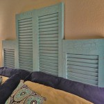 DIY Ideas Using Window Shutters 10
