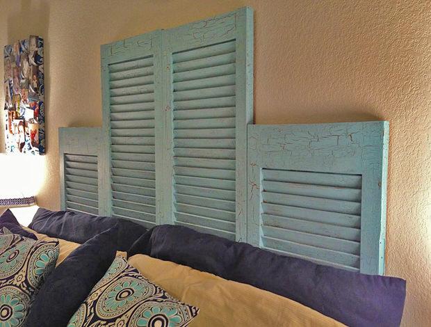 DIY Ideas Using Window Shutters 10