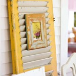 DIY Ideas Using Window Shutters 3