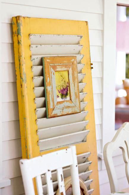 DIY Ideas Using Window Shutters 3