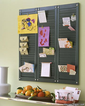 DIY Ideas Using Window Shutters 6