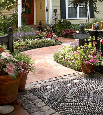 Garden DIY Ideas Using Rocks 4