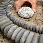 Garden DIY Ideas Using Rocks 5