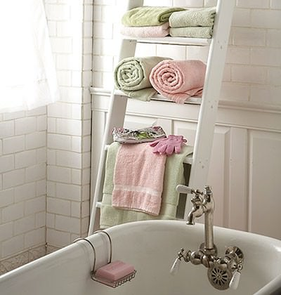 Great DIY Bathroom Towel Storage Ideas 2