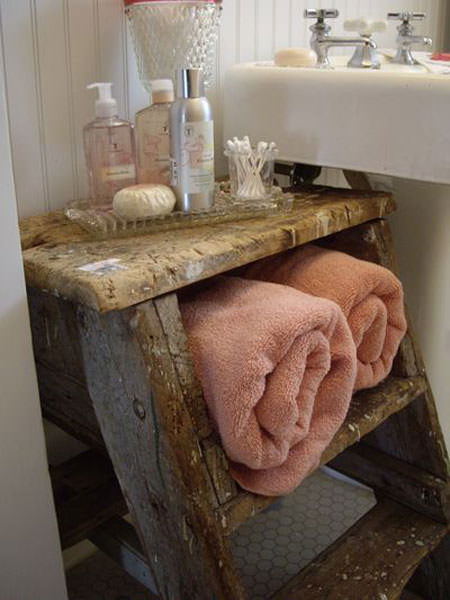 Great DIY Bathroom Towel Storage Ideas 5