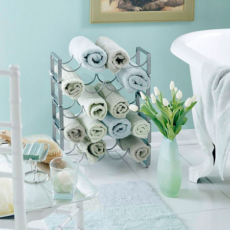 Great DIY Bathroom Towel Storage Ideas 7