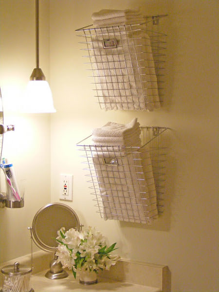 Great DIY Bathroom Towel Storage Ideas 8