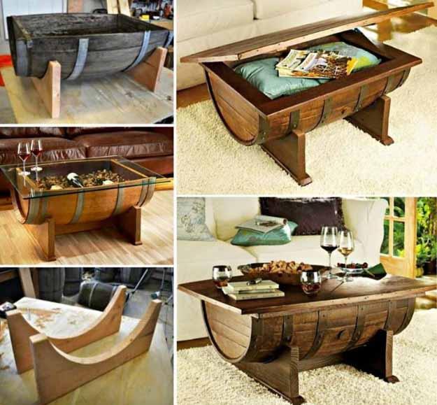 15 Insane DIY Coffee Table Ideas 2