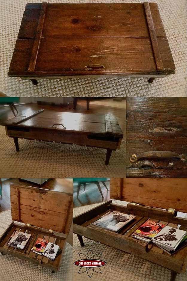 15 Insane DIY Coffee Table Ideas 9