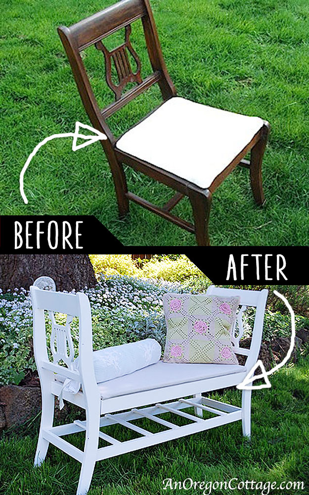 19 DIY Idea To Play With Old Furniture 10