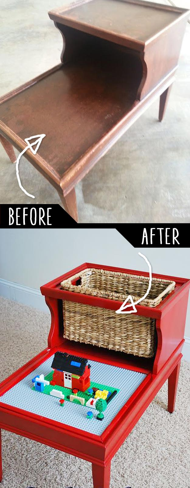 19 DIY Idea To Play With Old Furniture 16