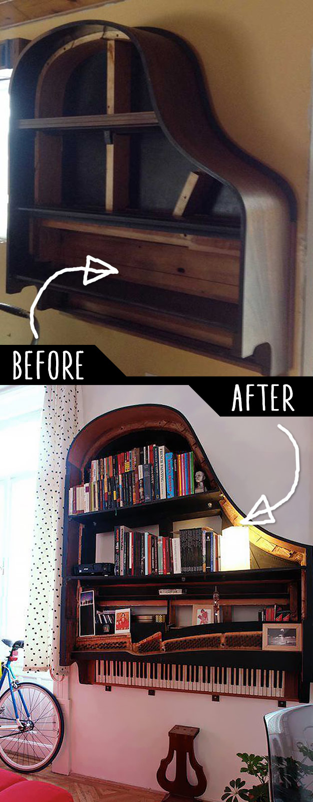 19 DIY Idea To Play With Old Furniture 2