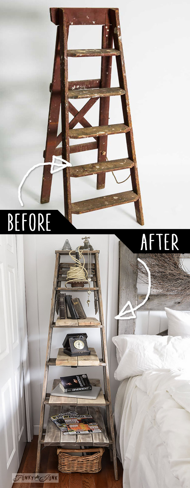 19 DIY Idea To Play With Old Furniture 3