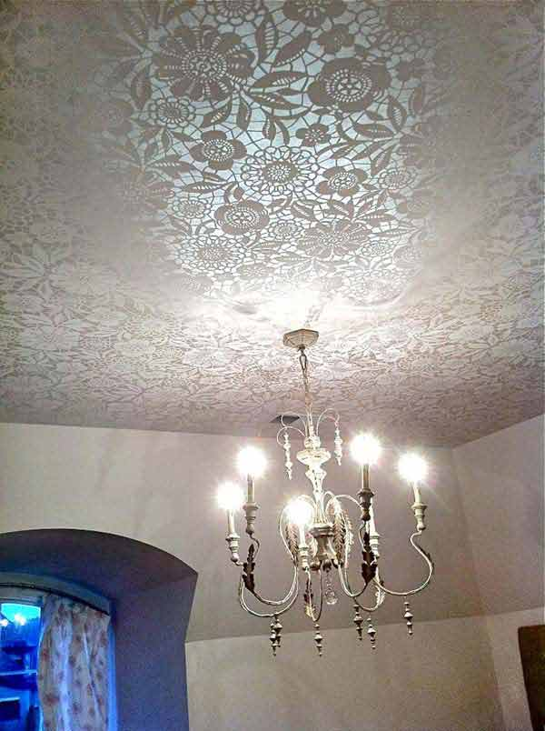 20 Great DIY Ideas For Decorating With Lace 5