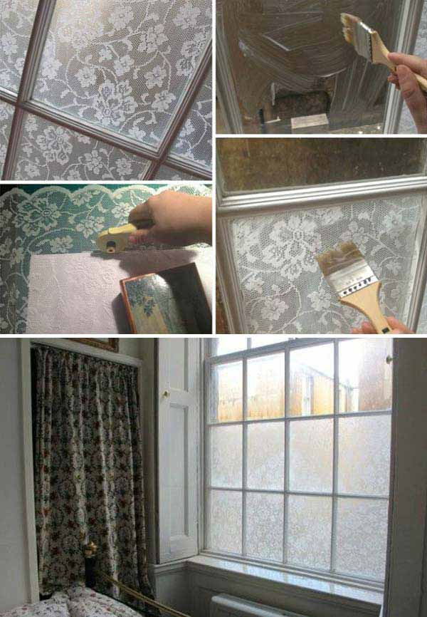 20 Great DIY Ideas For Decorating With Lace 9