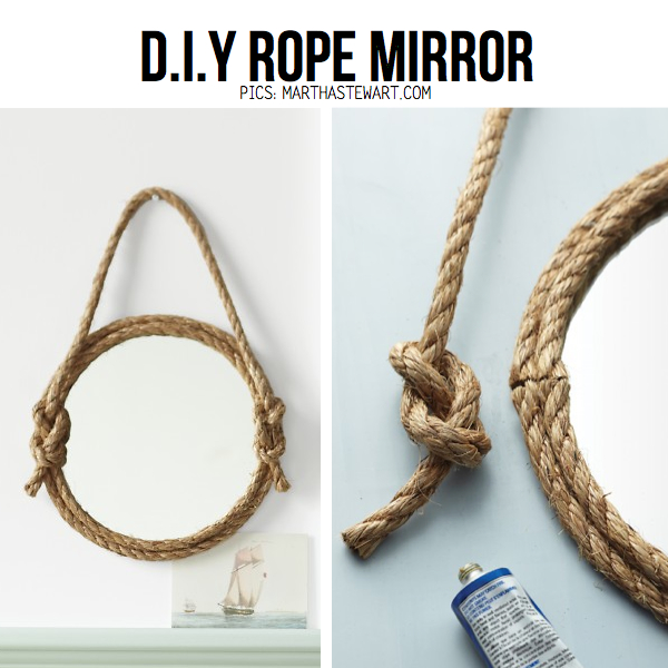 25 Awesome DIY Crafting Ideas For Working With Ropes 14