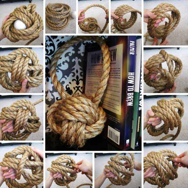 30 Great Ways To DIY with Rope 21