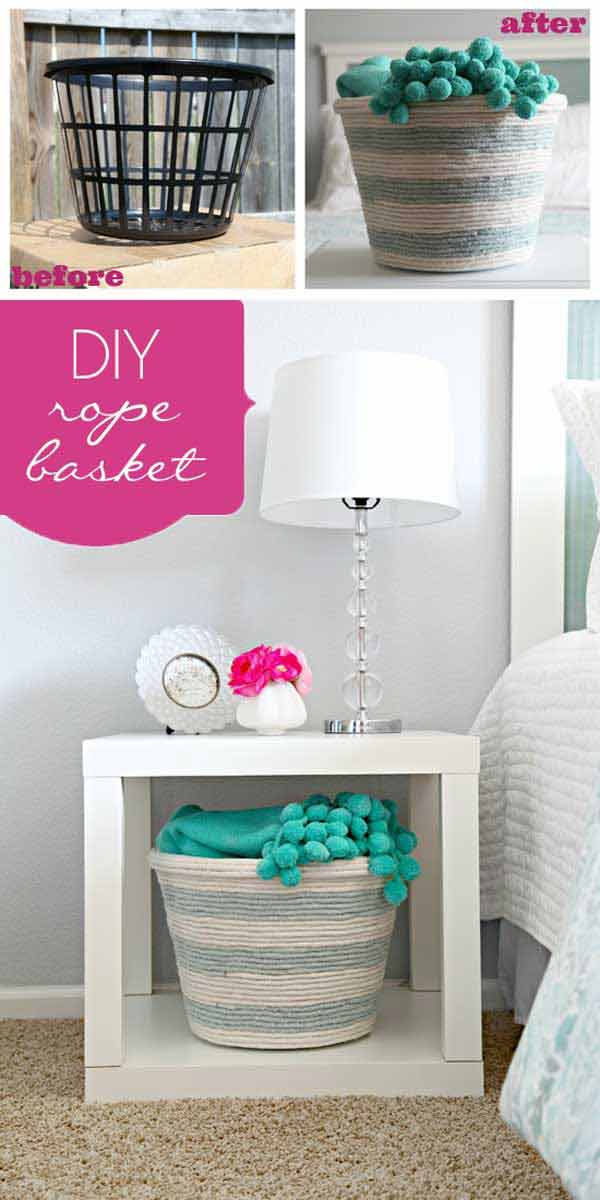 30 Great Ways To DIY with Rope 28